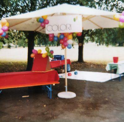 COLORI Aktionsstand Anfang der 90er