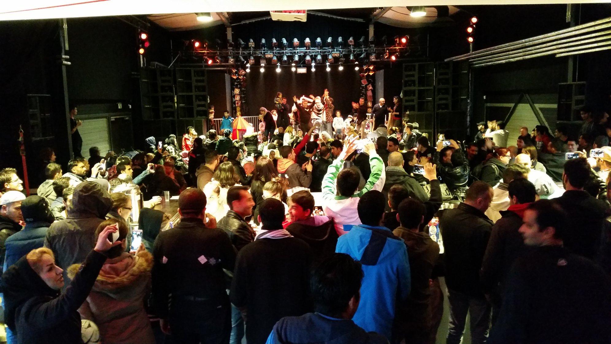 Willkommensfest - social events