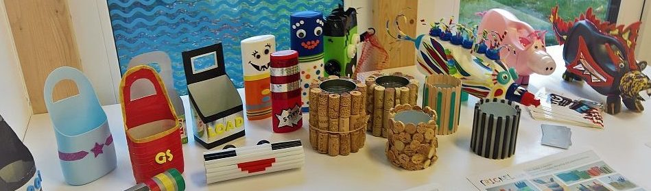 Upcycling Kreativaktion bei Kids Events
