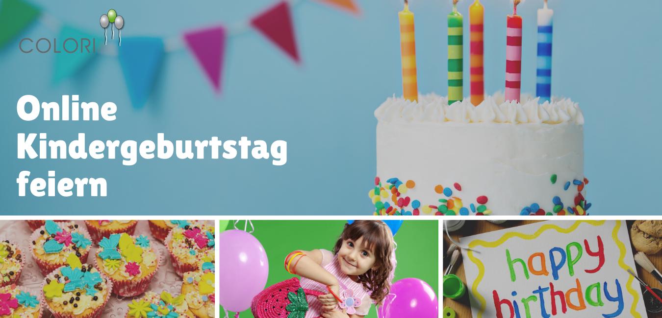 Kindergeburtstag online feiern